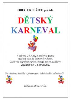 2018 Maškarní - karneval