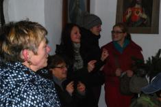 Štědrovečerní kaplička Malovice 2013